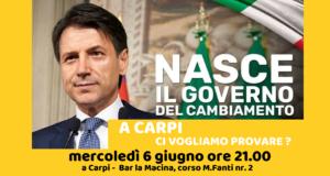 Italia di oggi, il domani di Carpi